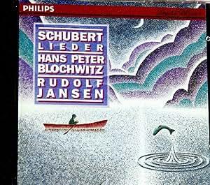Schubert-Lieder-Hans P.Blochwitz-R.Jansen,Piano-