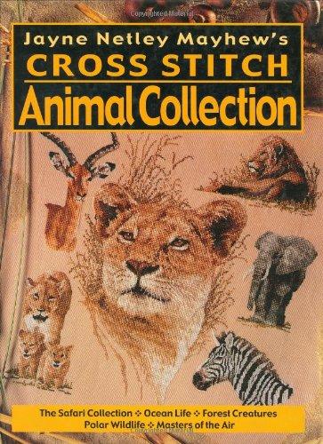 Jayne Netley Mayhews Cross Stitch Animal Collection -