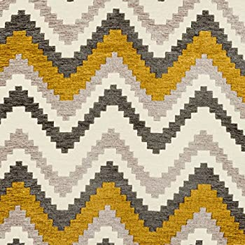 Mcalister Textiles Navajo Fabric For Curtains Yellow