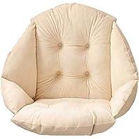 HB.YE Coussin de Chaise avec Dossier siège Coquille Fauteuil Velours Douillet Elastique Impermeable pour Chaise en Rotin…