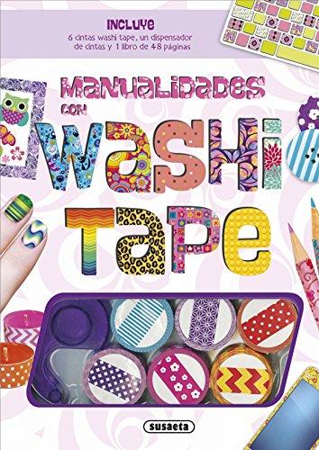 Manualidades con washi tape (Hecho a mano) por Susaeta Ediciones  S A