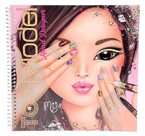 TOP MODEL 10053Mano Designer Libro da colorare
