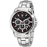 Orologio da uomo, Collezione Successo, con movimento al quarzo e funzione cronografo, in acciaio - R8873621009