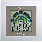 Elv MA10230 Indoor Electronic hygrometer Grey, Silver - Elv MA10230, Digital, Rectangular, Micro/AAA, 1.5 V, 100 mm, 17 mm