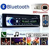 Boom Boost Car Stereo 12V FM In Dash Radio 1 DIN SD / USB AUX Bluetooth Mains libres autoradio