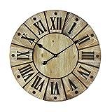 Watching Clocks Large Sylish Hometime Wooden Wall Clock