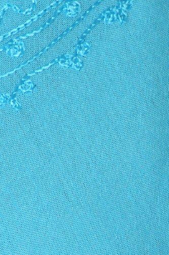 Ogni giorno Sakkas Essentials Caftano Dress Tank / Cover Up Turchese