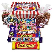 The Chocolate Gift Box! Retro Sweets Hamper - Chocolate Version