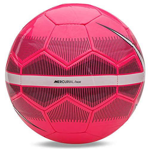 Piłka Nike Strike Football Fussball pink-gelb