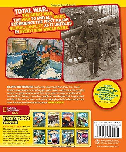 Everything World War I (National Geographic Kids Everything)