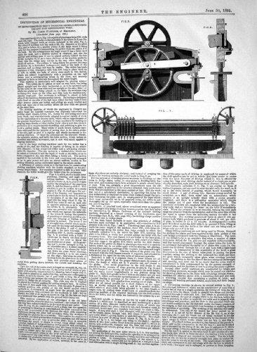 Verbesserungen Schwere Werkzeug-Eisen-Schiffbau-Arbeit James Fletcher, der 18...