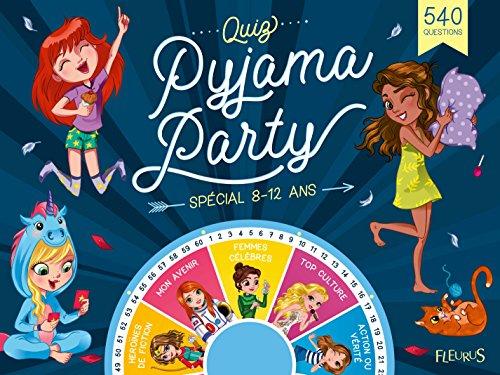 Quiz et défis pyjama party par Collectif