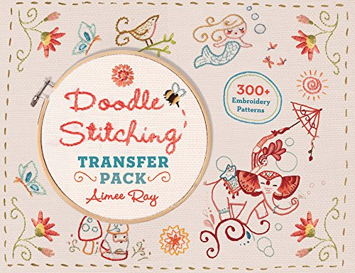 Doodle Stitching Transfer Pack: 300+ Embroidery Patterns -