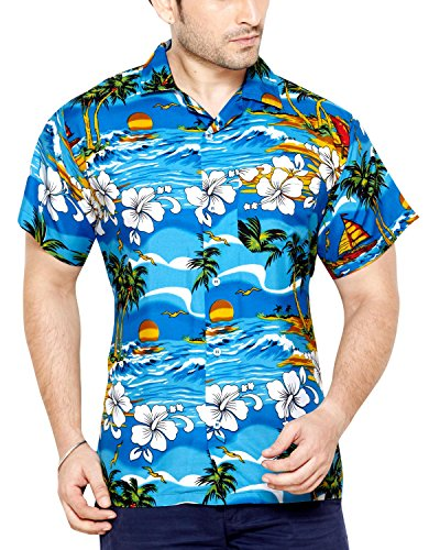 club-cubana-mens-slim-fit-classic-short-sleeve-casual-floral-hawaiian-shirt-l