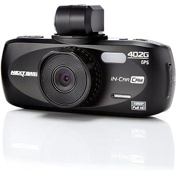 Nextbase NBDVR402G In Car Cam 402G Professional Autounfallkamera (Full HD, HDMI, AV, USB, micro SD-Kartenslot, 2,7 Zoll LCD Screen, GPS)