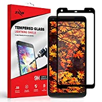 Zizo Full Edge-to-Edge Lighting Shield Google Pixel 2 XL Screen Protector with Anti-Scratch Protection, 9H Hardness and 0.33mm Thickness