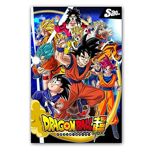 Yhyxll Dragon Ball Super Poster Goku Ultra Instinct