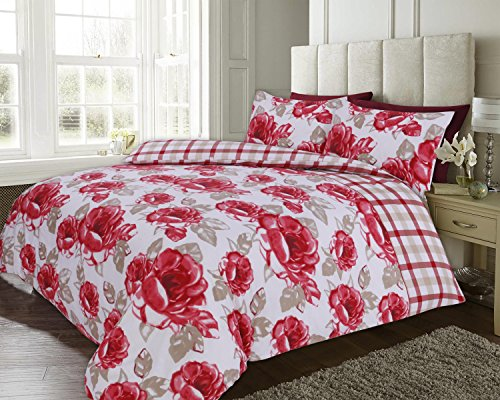 bloomingdale-rojo-cuadros-florales-edredon-reversible-rojo-cama-doble-king-230-cm-x-220-cm
