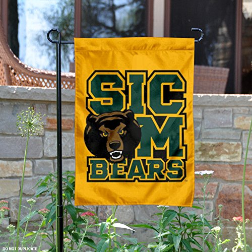 College Flags and Banners Co. Baylor Bears Sic Em Bears Garden Flag -