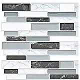 FAM STICKTILES Tegelstickers, Wandsticker Zelfklevende Milieubescherming Tegelsticker Muursticker Tegels Voor Keuken/Badkamer