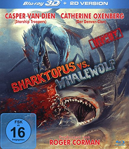 Sharktopus vs Whalewolf 3D - uncut Edition [3D Blu-ray]