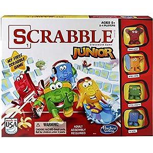 Hasbro – Juego Scrabble Junior para 2 – 4 Jugadores (B0325)
