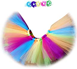 Voberry Unisex-Baby Newborn Photo Prop Tutu Skirt with Headband One Size Colorful