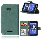 Sony Xperia E4G (4.7 Zoll) Case,BONROY® Sony Xperia E4G (4.7 Zoll) Retro Matte Leather PU Phone Holster Case, Flip Folio Book Case, Wallet Cover with Stand Function, Card Slots Money Pouch Protective Leather Wallet Case for Sony Xperia E4G (4.7 Zoll)