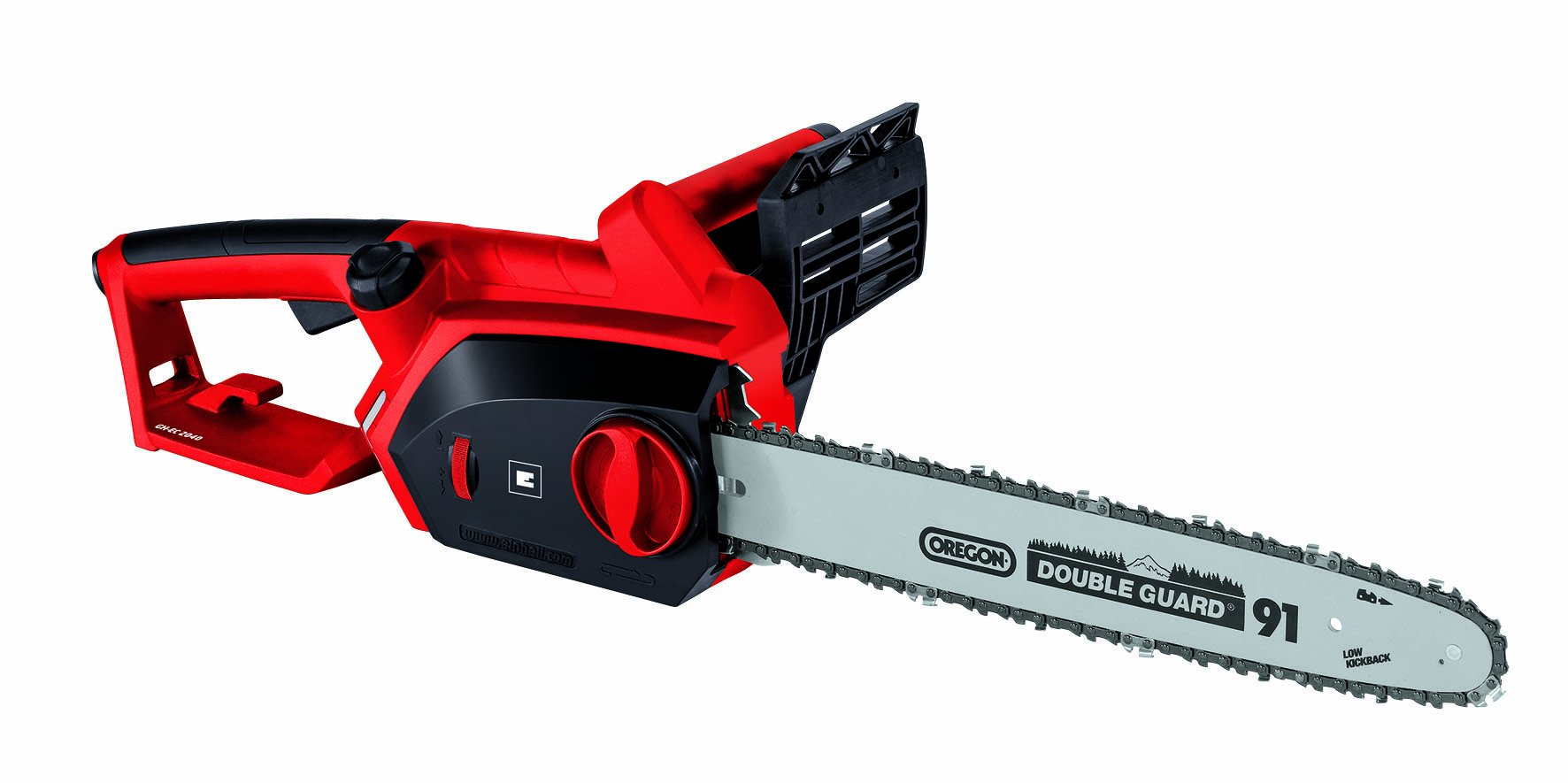 Einhell GH-EC 2040 – Motosierra eléctrica (2000 W) color rojo