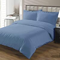 TheSignature Hotel Luxury 1Pcs Duvet Cover Set with Zipper Closure-800 Thread Count Egyptian Cotton Quality Ultra Soft Cotton Premium Bedding Collection -Twin/Twin XL Size Light Blue