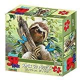 Howard Robinson hr1358863-Teiliges Super 3D Kinder Puzzle–Faultier