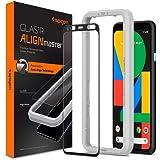 Spigen, 1 pack, Pixel 4 skärmskydd, helskärmstäckning, Align Master, automatisk justeringsteknik, härdat glas, 9H hårdhet, fo