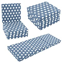 KIDS CHAIR BED - Kids Folding Chairbed Futon Guest Z bed Childrens