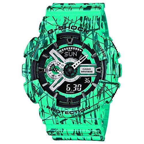Montre Casio G-shock Ga-110sl-3aer Homme Vert