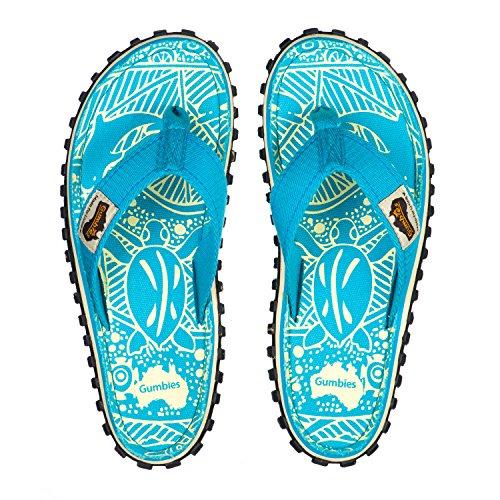 Gumbies Islander Sandale Turquoise