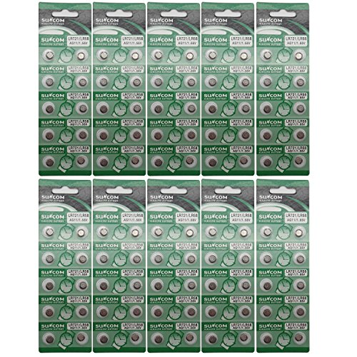SUNCOM Lr58 Einmalgebrauch Batterie Lr721 SR720 R58L L721 S12 Uhr Spielzeug Fernbedienungen Kameras...