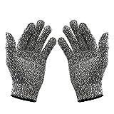 WISLIFE schnittfeste Handschuhe – Schutzhandschuhe mit Lebensmittelqualität, Arbeitshandschuhe für den Handschutz, groß