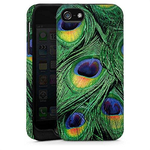 Apple iPhone 6 Housse Étui Silicone Coque Protection Paon Ressorts Jungle Cas Tough brillant