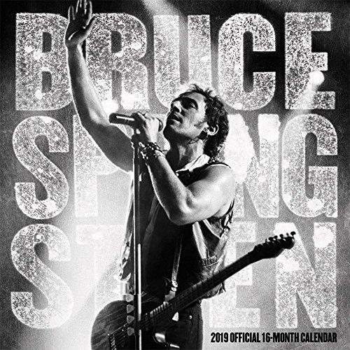 Bruce Springsteen 2019 - 18-Monatskalender (Wall-Kalender)