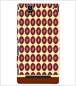 PrintDhaba Pattern D-1511 Back Case Cover for SONY XPERIA T2 ULTRA (Multi-Coloured)
