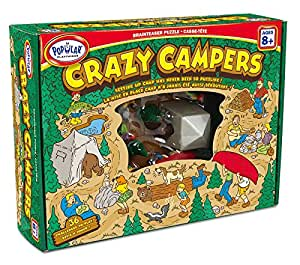 Popular Plaything Crazy Campers Brainteaser Puzzle