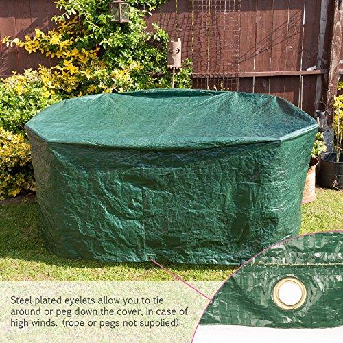Outdoor Furniture Covers Shop: Savisto Large Round All Weather Patio / Garden Outdoor