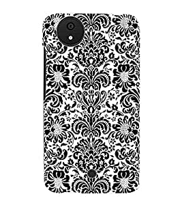 Fuson 3D Printed Pattern Designer Back Case Cover for Micromax Canvas Android A1 - D1020