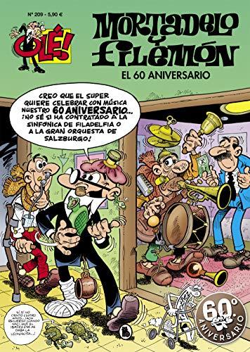 El 60 aniversario (Olé! Mortadelo 209) (Bruguera Clásica) por Francisco Ibáñez