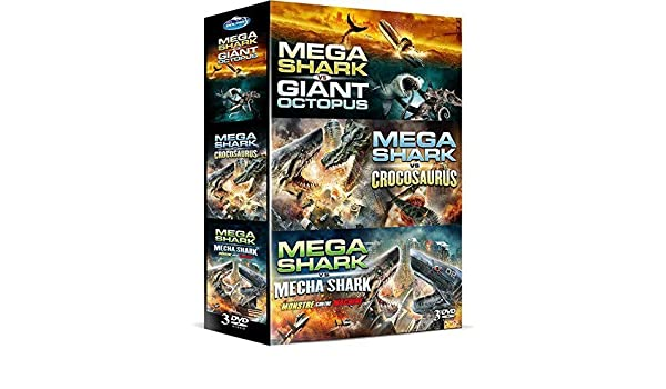 coffret mega shark fr import dvd amazon co uk dvd blu ray