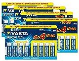 Varta High Energy AA 8+ 8Gratis Akku Pack, 20 + 20 Free