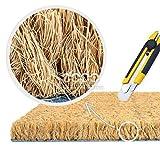 Fibra de coco natural piso estera 60x90 cm 17mm