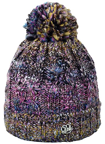 Döll Pudelmütze Strick - Bonnet - Fille Violet (byzantium 7229)
