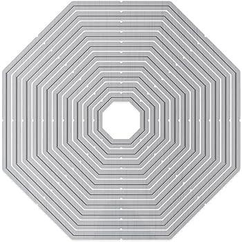 Tonic Studios Layering Basics-Traditional Heart Grey Metal 10.1 x 10.7 x 0.1 cm