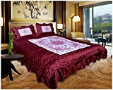 Home Shop Gift 100 TC Satin Double Bedsh...